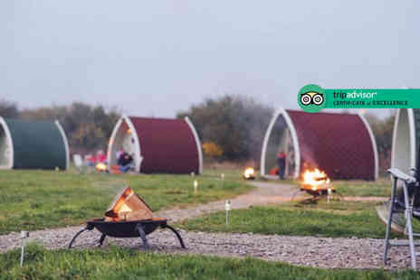 Stanley Villa Farm Camping - One or two night glamping stay for a family of up to four - Save 34%