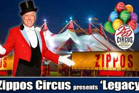 Zippos Circus - Ticket to Zippos Circus, Side View Ticket on 30 March to 10 April - Save 0%