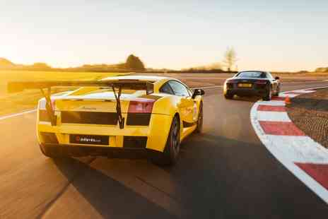 Drift Limits - Supercar Thrill and Blast Driving Experience for Up to Five Cars - Save 51%