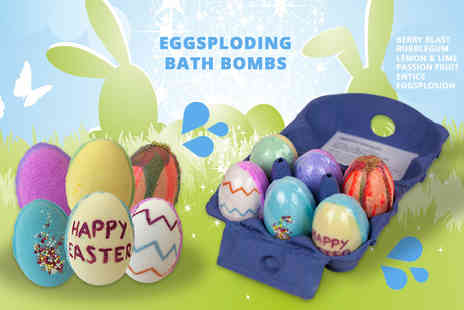Bathtime Boutique - Set of Easter egg explosion bath bombs - Save 0%