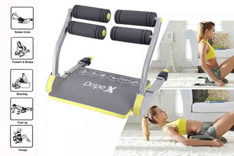HXT Goods - 6 in 1 full body workout machine - Save 70%