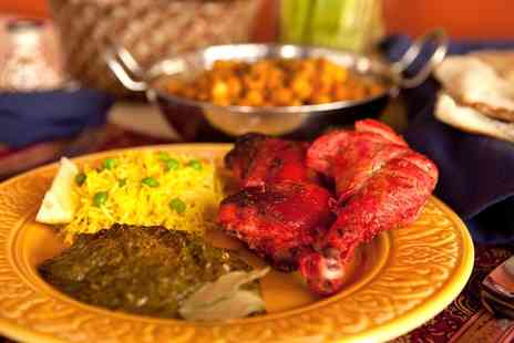 Cowfold Cottage Tandoori - Indian Meal with Side or Naan and Rice for Two or Four - Save 0%