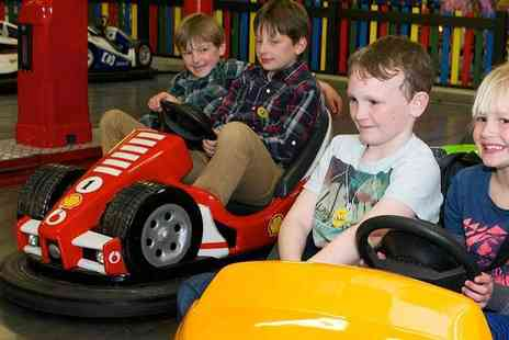 Gambado - Gambado Watford One Month Pass, Acres of Fun with Slides, Climbing Walls, Dodgems and Much More - Save 25%