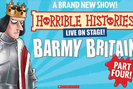 Encore Tickets - Horrible Histories Barmy Britain Part 4 at the Apollo Theatre - Save 0%