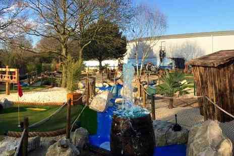 Captains Bay Golf - Entry to Captains Bay Adventure Golf, Edgware, No Need to Book, Just Buy and Go - Save 33%