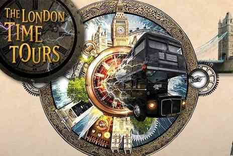 Time Tours - See Londons Unbelievable History with Professor Quantums Sightseeing Bus - Save 44%