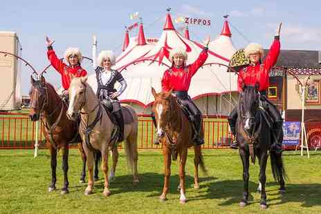 Zippos Circus - Side view ticket to see Zippos Circus - Save 39%