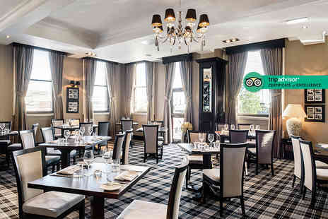 The Vermont Hotel - Overnight stay, late 2pm check out and a bottle of Prosecco or overnight stay, late check out and two course dining - Save 27%
