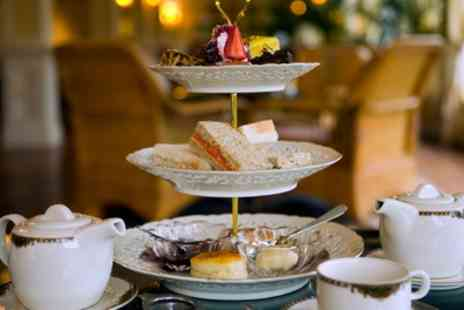 Doubletree Hilton - Standard or Sparkling Afternoon Tea for Two or Four - Save 48%