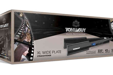 AMS Global - Toni & Guy Salon Pro XL Hair Straighteners - Save 63%