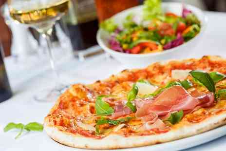 Pizzeria Positano - Two Course Italian Meal with Wine for Two or Four - Save 0%