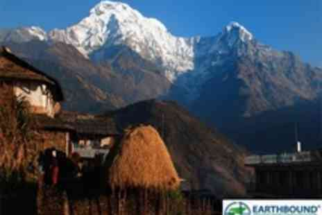 Earthbound Expeditions - 10 Day Nepal Trek and Tour with Yoga - Save 51%