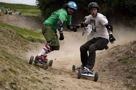 Hales Board and Bike Park - Beginners mountain board experience including one hour of tuition and two hours of free time - Save 52%