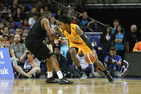 British Basketball League - Band B ticket to the BBL Basketball Play off Final - Save 52%