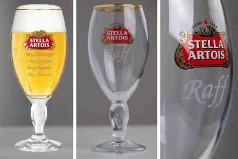 CNC Group - Personalised beer glass or beer glass and premium gift box - Save 30%