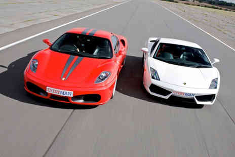 Drivers Dream Days - Junior supercar driving experience in one, two or three car choose from five locations - Save 41%