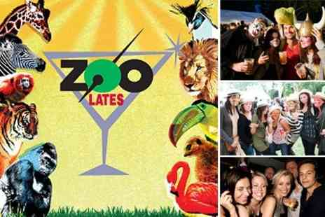 ZSL London Zoo - Admission to Zoo Lates on Friday 15 July - Save 55%