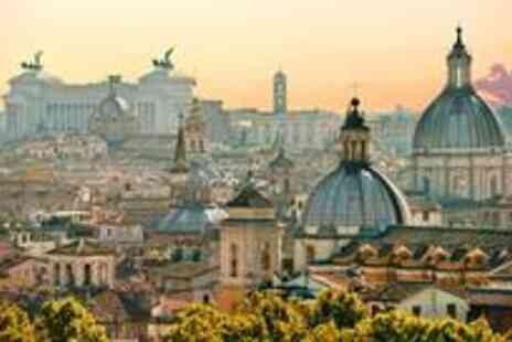 KPX Travel - Per person for a three night 4* Rome break, including return flights - Save 40%