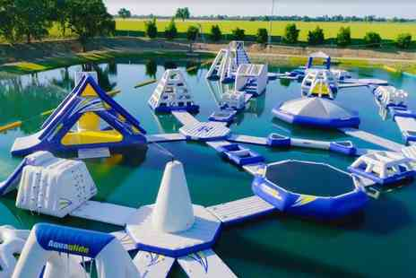 Thorpe Lakes - 60 Minute Water Park Entry and Wetsuit Hire for One, Two or Four - Save 0%