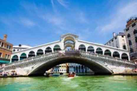 KPX Travel - In Venice Three Night Stay For Two With Flights and Breakfast - Save 38%