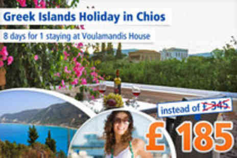 Voulamandis House - Greece for 8 days on the Island of Chios for Singles - Save 46%