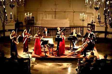 Candlelight Concerts - Ticket to a Concerts by Candlelight classical music performance by London Concertante with a CD and programme choose from nine locations - Save 67%