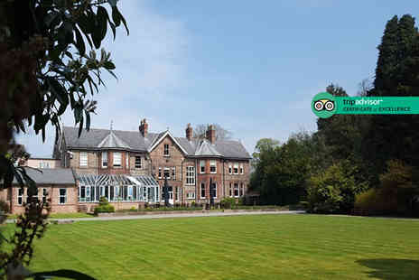 Burn Hall - Two night Yorkshire break for two people with breakfast, cream tea and tickets to York Bird of Prey Centre - Save 54%