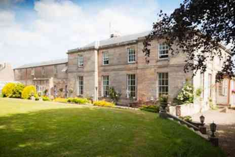 Marshall Meadows Country HouseHotel - One or Two Nights Stay for Two with Breakfast and Optional 2 Course Dinner - Save 0%