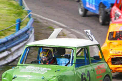 Mendips Raceway - Two Tickets to Stock Car Racing on 8 July - Save 64%