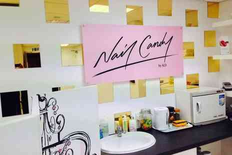 Nail Candy - Shellac manicure, or £19 for a manicure and pedicure - Save 60%
