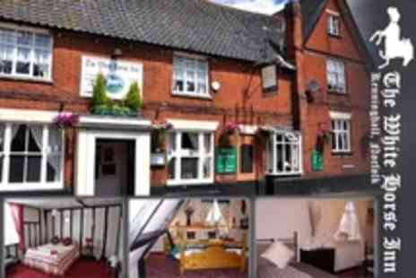 The White Horse Inn - In Kenninghall Two Night Stay For Two With Breakfast and Wine on Arrival - Save 67%