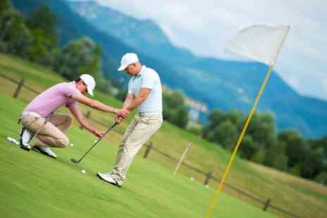 Manston Golf Centre - 30 Minute Golf Lessons for One or Two - Save 55%