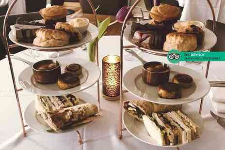 Souls Restaurant - Choice of afternoon tea for two people with a glass of Prosecco or cocktail each - Save 55%
