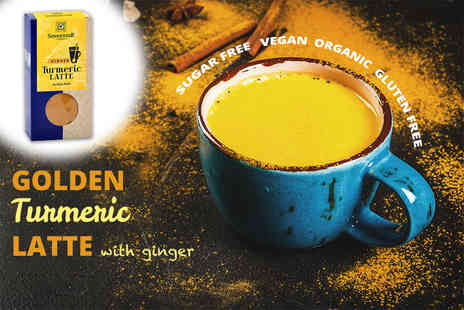 Excess Retail - One, two or three 60g pack of turmeric latte mix - Save 64%