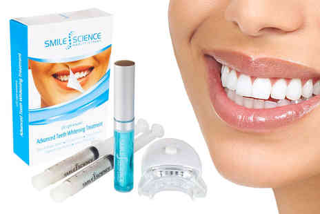 Face London - Smile Science LED activated advanced whitening treatment - Save 88%
