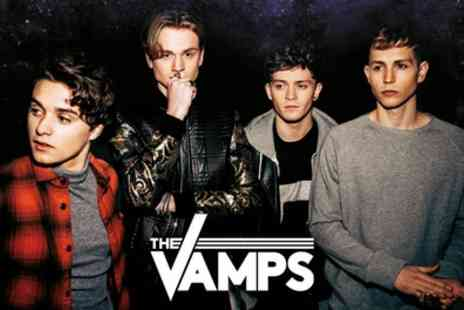 AEG Presents - One seated or standing ticket to see The Vamps Tour on 14 To 28 April - Save 50%