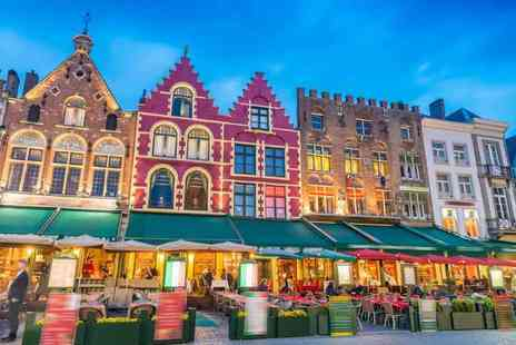 Anderson Tours - Childs ticket for a luxury coach day trip to Bruges - Save 33%