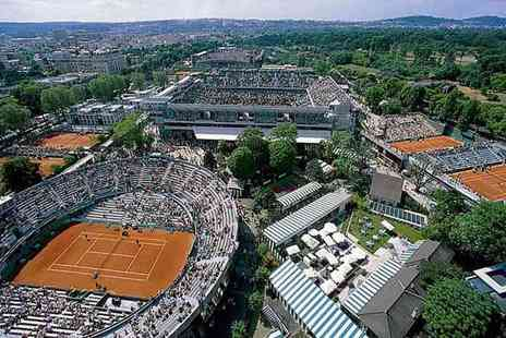 World Choice Sports - Two night Paris stay and Roland Garros French Open ticket - Save 30%
