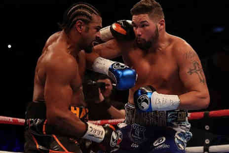 World Choice Sports - Overnight London stay and ticket to David Haye vs. Tony Bellew boxing match on 5th May 2018 - Save 0%