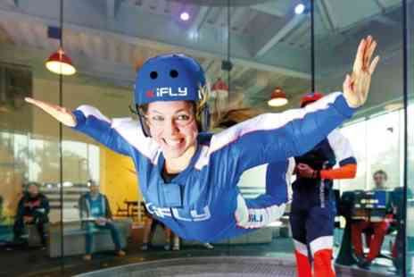 iFLY - Indoor Skydiving Experience Including Two Flights - Save 64%