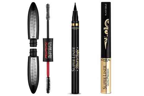 Groupon Goods Global GmbH - LOreal Paris Two Superliners and Mascara Set - Save 0%