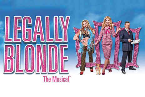 ATG Tickets - Band B or Band A ticket to see Legally Blonde The Musical from 16th to 19th April at Sunderland Empire - Save 45%