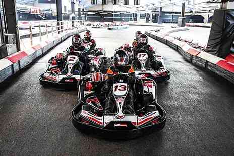 Buyagift - Indoor go karting experience for two people at a choice of 18 locations - Save 0%