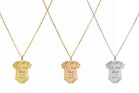 Jewells House - Up to Three Necklaces with Customisable Engraving With Free Delivery - Save 66%
