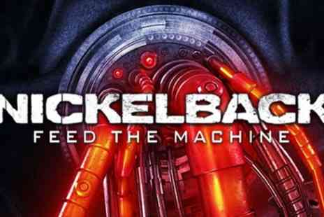AEG Presents - One standing or seated ticket to see Nickelback on 3 To 13 May - Save 54%
