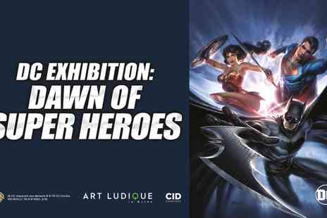 DC Exhibition - One child, adult or family ticket to DC Exhibition Dawn Of Super Heroes on 23 February To 9 September - Save 0%