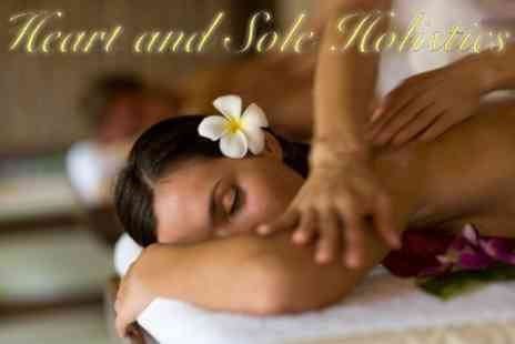 Heart and Sole Holistics - Full Body Swedish Massage and Collagen Mask Therapy Facial With Head Massage - Save 62%