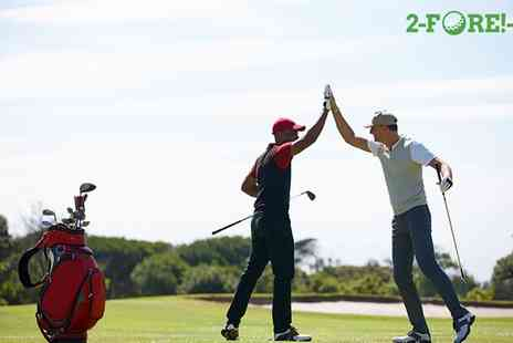 2 Fore 1 - 6 or 12 Month Golf Membership with 2 FORE 1, Choice of Over 690 Locations - Save 0%