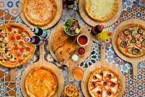 Pizza X Drink - 10 inch Pizza and Pint of Beer Each for Two or Four - Save 0%