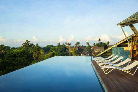 SenS Hotel & Spa Ubud - Four Star Cultural Traditions, Lush Beauty and Picture Perfect Beaches For Two - Save 57%